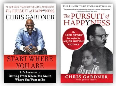 زندگینامه کریس گاردنر,فیلم در جستجوی خوشبختی,کتابهای کریس گاردنر