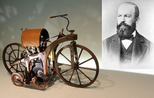 اختراع موتور احتراق,بیوگرافی گوتلیب دایملر,زندگی نامه گوتلیب دایملر