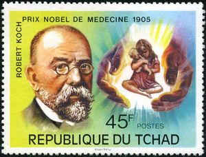 بیوگرافی رابرت کخ,جایزه نوبل پزشکی,رابرت کخ