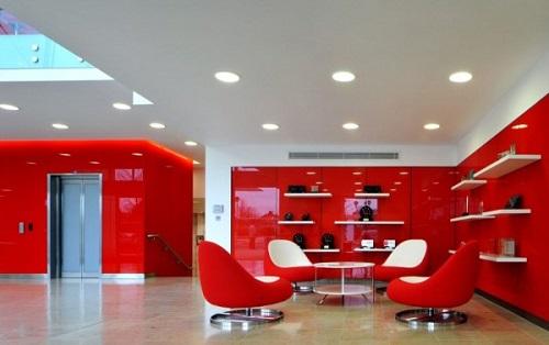 بهترین رنگ برای دفتر کار,بهترین رنگ برای محل کار,رنگ آمیزی دفتر کار