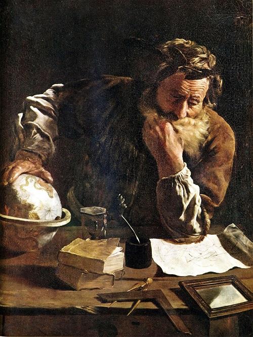 ارشمیدس ریاضیدان,ارشمیدس کیست,اصل ارشمیدس