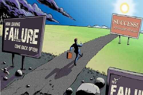 از شکست تا موفقیت,ترس از شکست,ترس از شکست خوردن