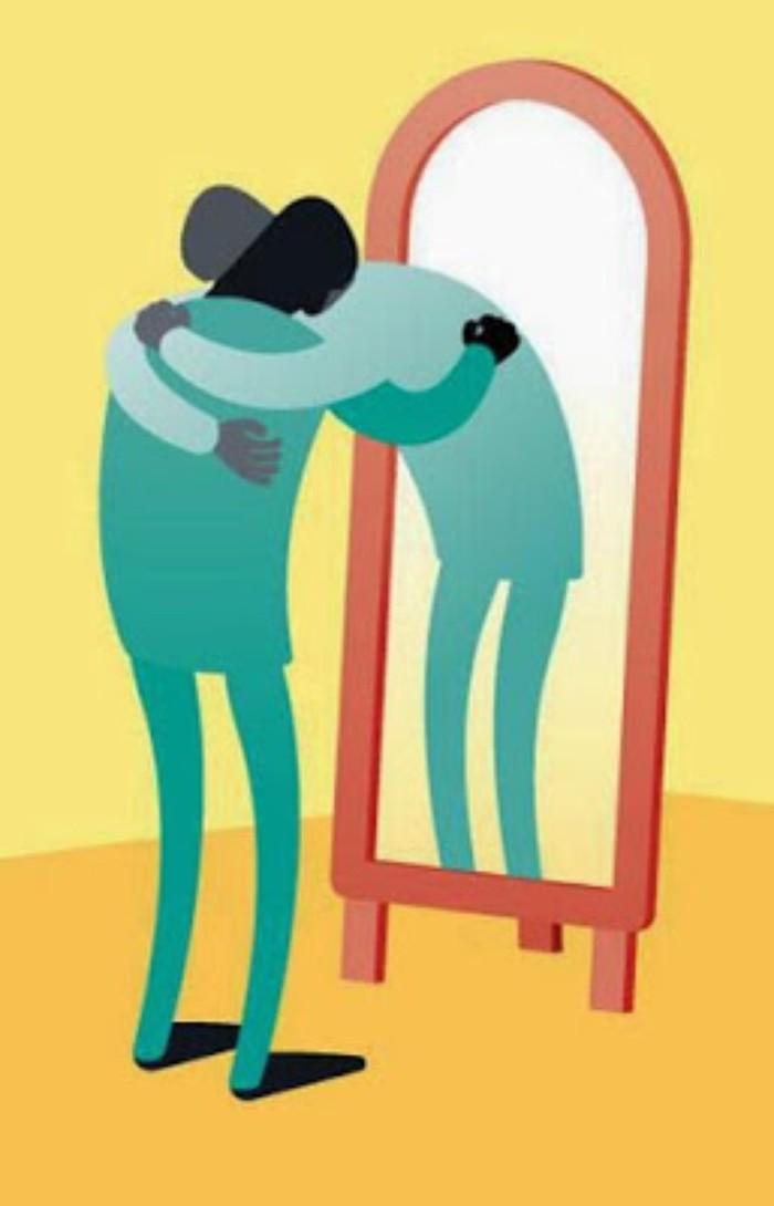 آشفته و نگران,چگونه با خودمان مهربان باشیم,حرف منفی