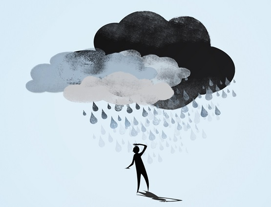 چگونه افسردگی را کنار بگذاریم,حل مشکل افسردگی,علائم افسردگی