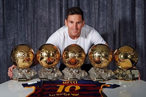افتخارات و رکورد های لیونل مسی,بهترین بازیکن جهان,بهترین بازیکن دنیا