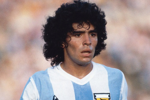 افتخارات ملی مارادونا,بیوگرافی مارادونا,دیه گو آرماندو مارادونا