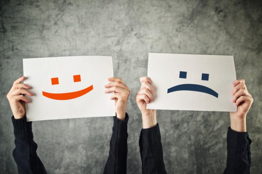 احساسات مثبت,احساسات منفی,افزایش عملکرد
