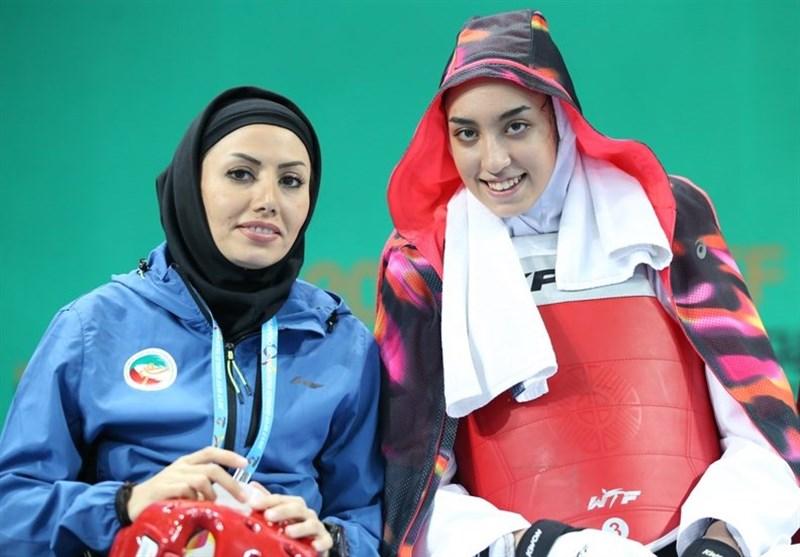 حضور کیمیا علیزاده در رقابت های قهرمانی تکواندو جهان 2017