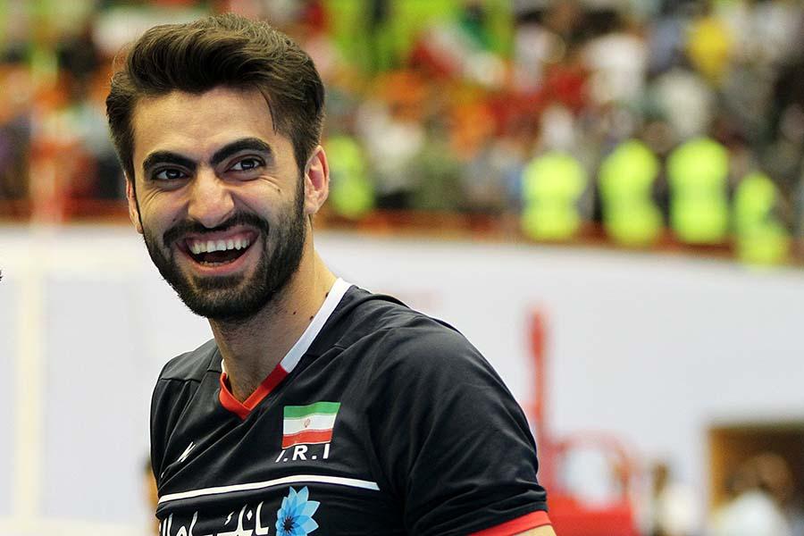 زندگینامه امیر غفور,زندگینامه امیر غفور والیبالیست,زندگینامه ورزشکاران