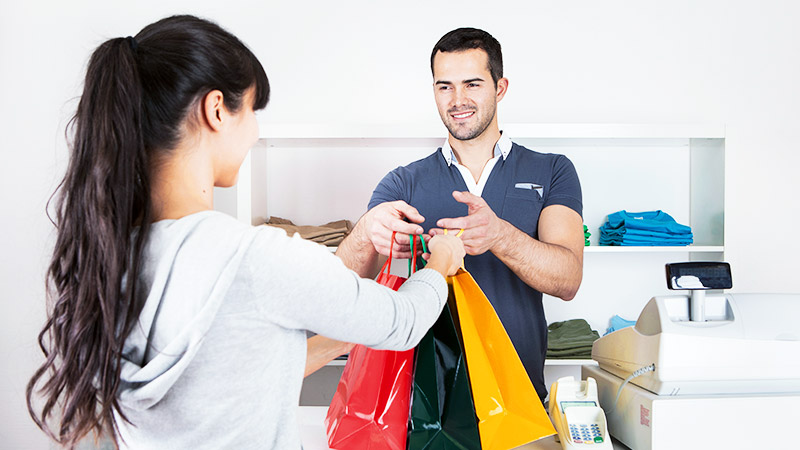 برخورد با مشتری,خصوصیات فروشنده حرفه ای,فروشنده حرفه ای