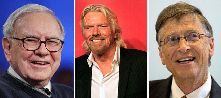 تعریف موفقیت از زبان 12 فرد قدرتمند و ثروتمند دنیا