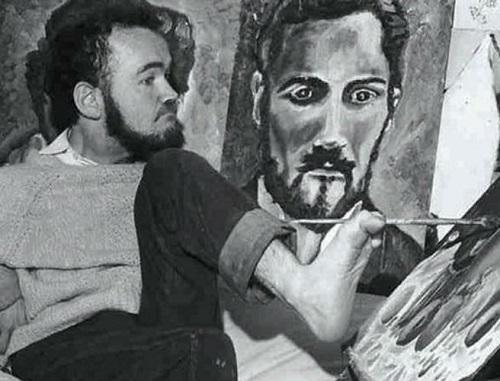 معلول کیست,معلول موفق,نقاش و شاعر ایرلندی
