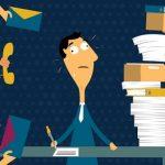 8 مورد از علائم استرس کاری