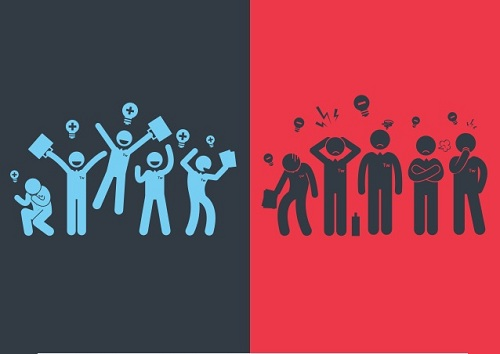 افراد مثبت اندیش,جذاب بودن,جذب افراد
