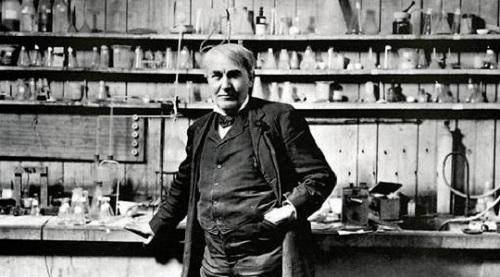 زندگینامه توماس ادیسون,زندگینامه دانشمندان,عکس توماس ادیسون