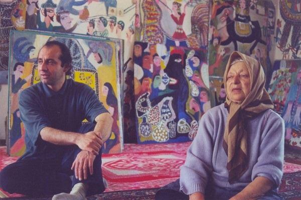 مکرمه قنبری و مریل استریپ,نقاشی مکرمه قنبری,نقاشیهای مکرمه قنبری