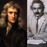 مقایسه نبوغ انیشتین و نیوتن