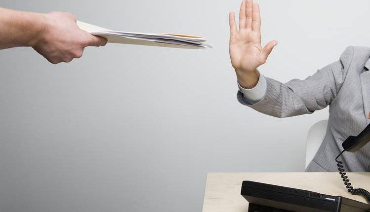 نه گفتن در محل کار